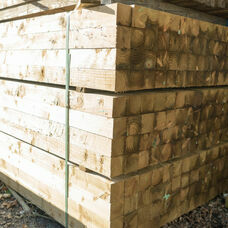 Sawn Treated Fence / Gate Posts
