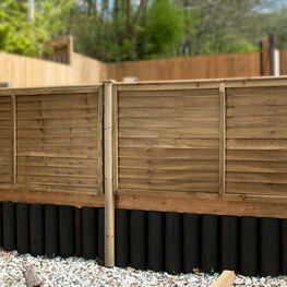 Heavy Duty Overlap Fence Panels