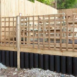 Heavy Duty Trellis Fence Panels