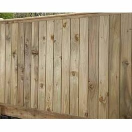 T&G Manor Fence Panel